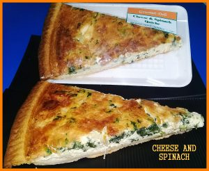 cheese spinach gourmet deli quiche